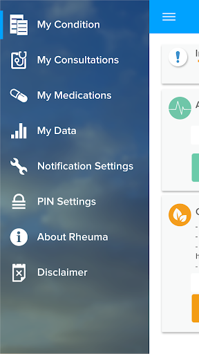RheumaConnect 1.2.1 screenshots 3