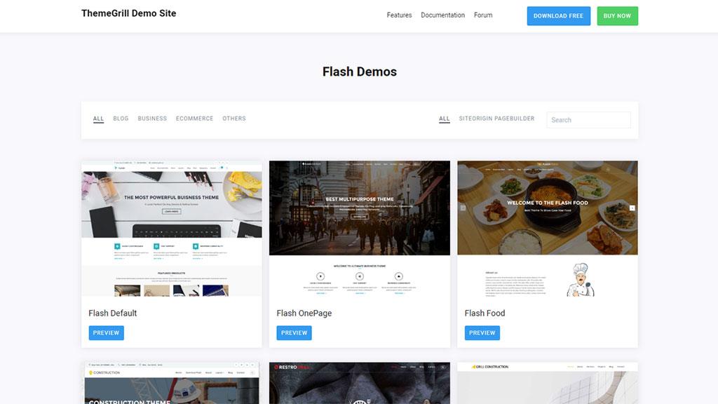 template para loja virtual flash