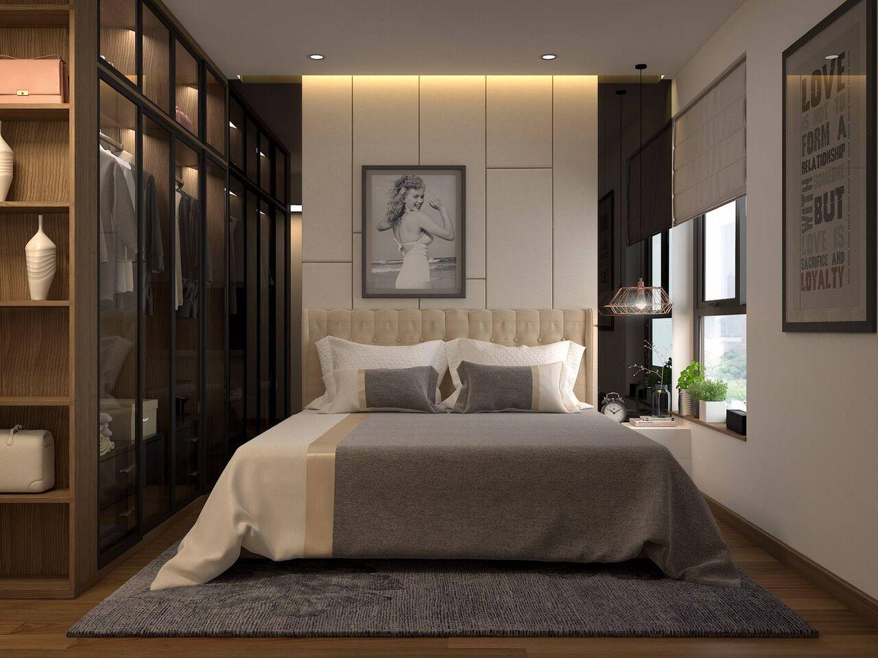 Thiết kế hiện đại và tinh tế trong phòng ngủ