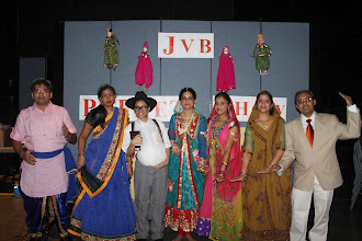 Photo: JVB Volunteers who put a splendid show at the Indian Senior Citizen Association (ISCA) national convention in Houston on 14th Sep 2013