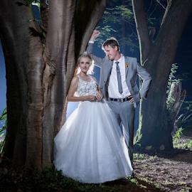 Night Love by Lood Goosen (LWG Photo) - Wedding Bride & Groom ( wedding photographers, wedding day, weddings, wedding, brides, wedding dress, wedding photographer, bride and groom, bride, wedding weddings, groom, bride groom )