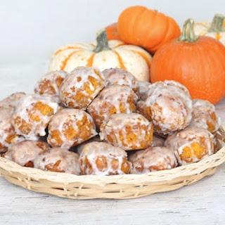 Baked Pumpkin Fritter Bites Recipe