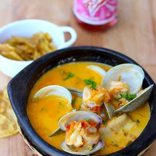 Cazuela de Mariscos (Seafood Stew).