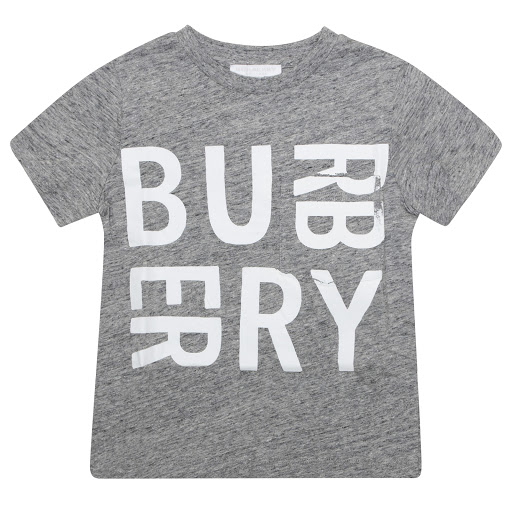 Primary image of Burberry Grey Logo T-shirt