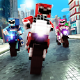 Blocky Superbikes Race Game - Motorcycle Challenge icon