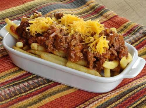 """Michigan Hot Dog Sauce """"My mother's recipe for a spicy, tangy sauce..."""