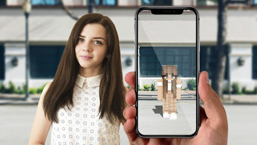 AR Minecraft skins Visualiser in Augmented Reality 8 screenshots 2