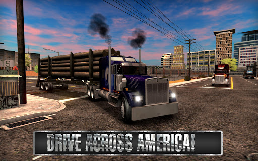 Truck Simulator USA  captures d'écran 2