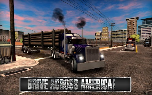 Truck Simulator USA- screenshot thumbnail