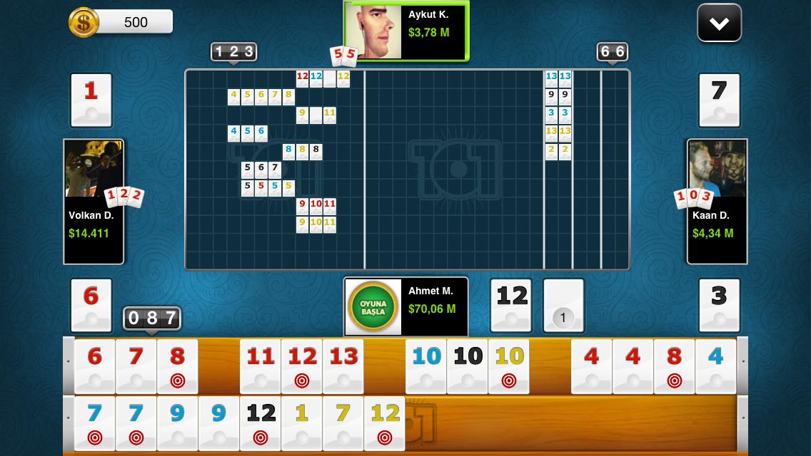 101 Yüzbir Okey Plus - screenshot