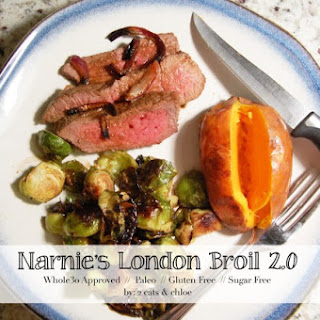 Narnie's London Broil 2.0 {Whole30 Approved!}