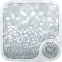 Silver Hearts Wallpaper icon