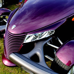 Purple Passion by Don Cailler - Transportation Automobiles (  )