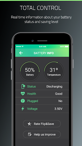Battery Saver & Charge Optimizer - Flip & Save for PC
