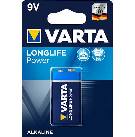 VARTA LONGLIFE Power 9V/6LR61 1-PACK