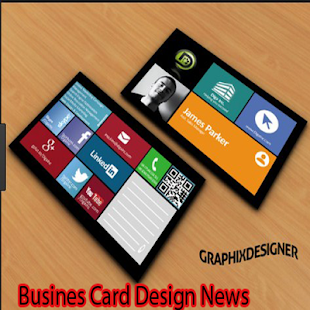 Busines Card Design News - náhled