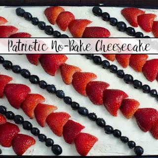 Patriotic No-Bake Cheesecake Recipe