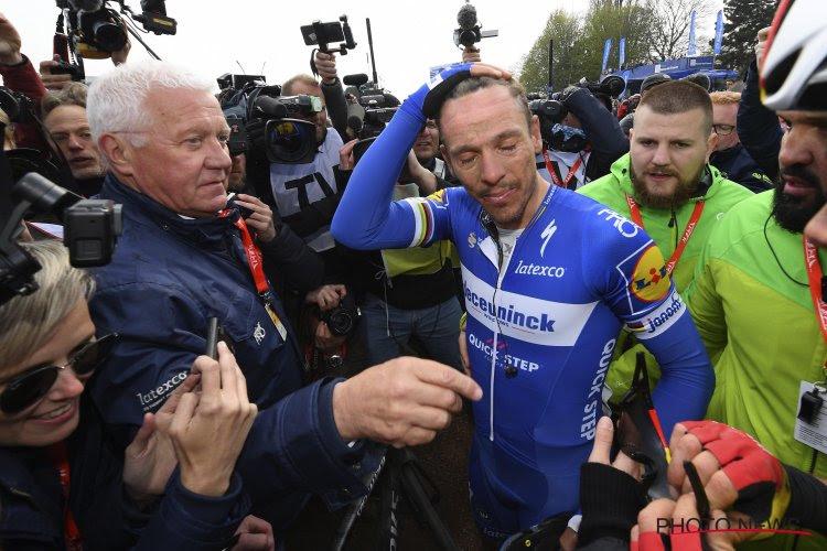"""Patrick Lefevere revient sur l'absence de Philippe Gilbert au Tour de France : """"J'aime bien Philippe"""""""