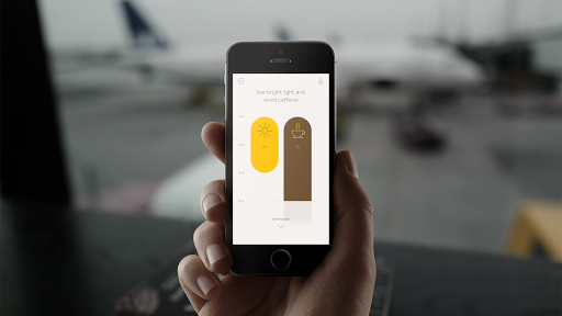 Timeshifter® - Jet Lag-appen® - Version 1 preview