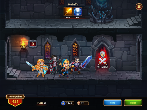 Hero Wars – Hero Fantasy Multiplayer Battles screenshot 12