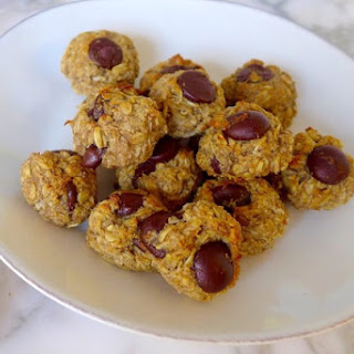 Oatmeal Banana Bites (Can be Gluten Free and Vegan)