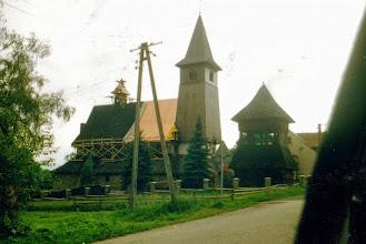 Photo: 2000 r. -przekrycie dachu kościoła w Rogoźniku.