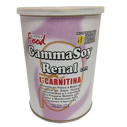 Suplemento Nutricional Gammasoy Renal L-Carnitina 410G Gamma Food