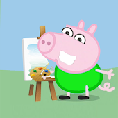 peppe pig Coloring