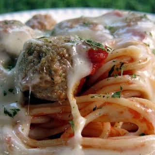 Spaghetti and Meatball Pot Pies.