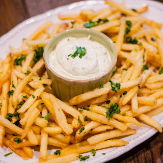 Truffle Fries with Lemon-Truffle Aioli Recipe
