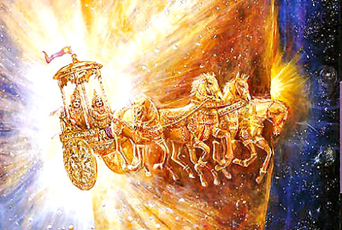 The universal source of light, Surya Devta