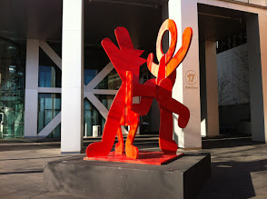 Photo: Keith Haring Sculptures