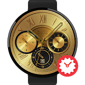 Golden Time Watchface by Pluto