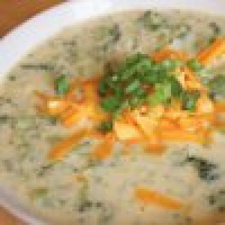 Broccoli & Cheddar Cheese Soup Recipe