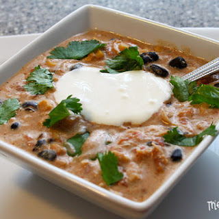 Crock Pot Cream Cheese Chicken Chili