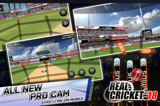 Real Cricketu2122 18 1.6 gameplay | by HackJr.Pw 8
