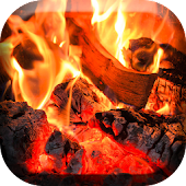 Cozy Fireplace Live Wallpaper