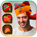 Rajasthani Saafa Turban Photo Editor Icon