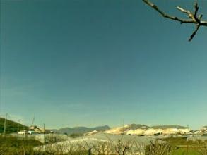 Photo: Pico de El Buitre y canteras de la Sierra de la Puerta. Desde el barranco, en el Campillo de los Jimenez.
