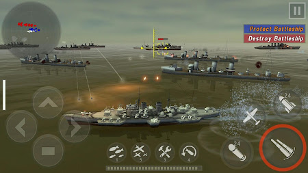 WARSHIP BATTLE:3D World War II 1.0.4 screenshot 852