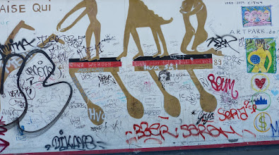 "Photo: East Side Gallery; Kiddy Citny ""Ger-Mania"""
