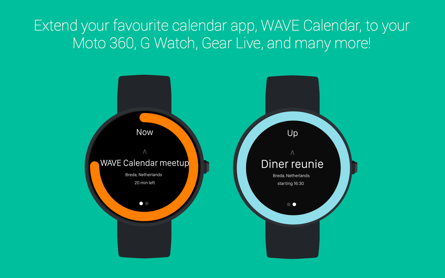 WAVE Calendar- screenshot