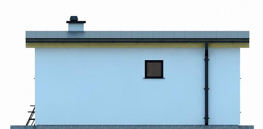 G255 - Budynek rekreacji indywidualnej - Elewacja lewa