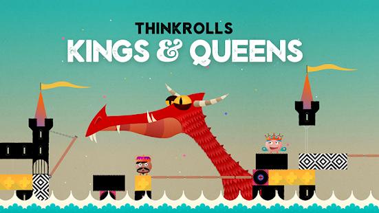 Thinkrolls: Kings & Queens Screenshot