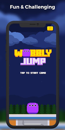 Wobbly Jump  captures d'écran 1