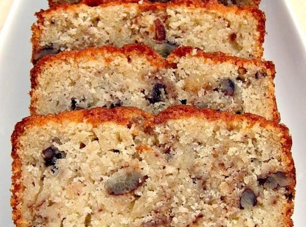 Moist Pecan Almond Loaf Cake Recipe