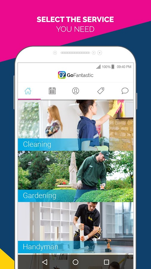 GoFantastic On Demand Services- screenshot
