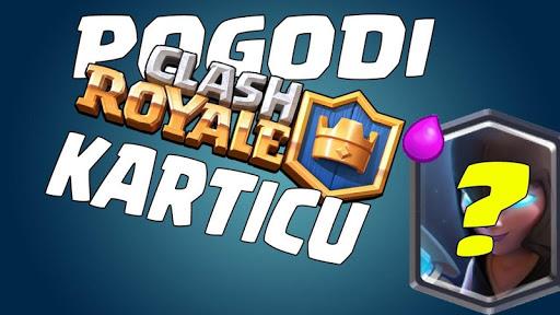 Pogodi Clash Royale karticu screenshot 6