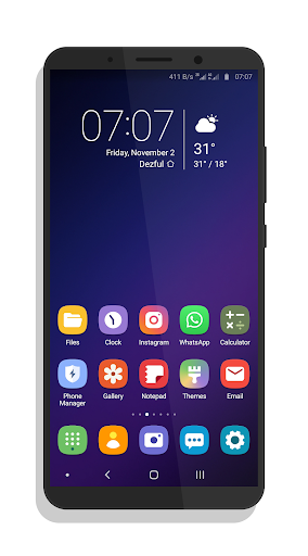 Download [Sub/EMUI] One UI Theme for EMUI 8.X/5.X MOD APK 1