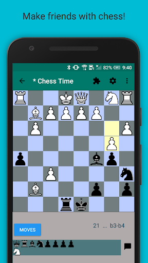 Chess Timeu00ae -Multiplayer Chess  captures d'u00e9cran 1